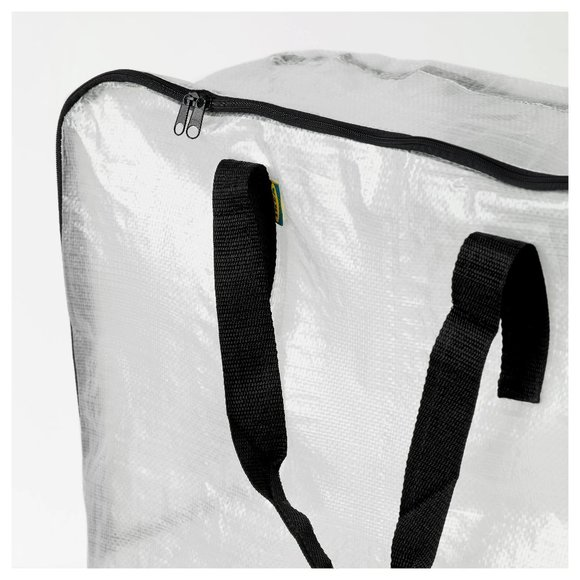 3x - Dimpa Zip Large Bags Tote Storage Heavy Duty